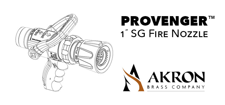 Akron Brass ProVenger Out Now Firefighting Nozzles