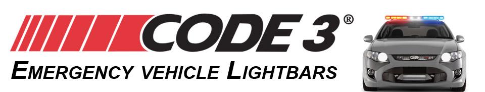 Code 3 LED Lightbars