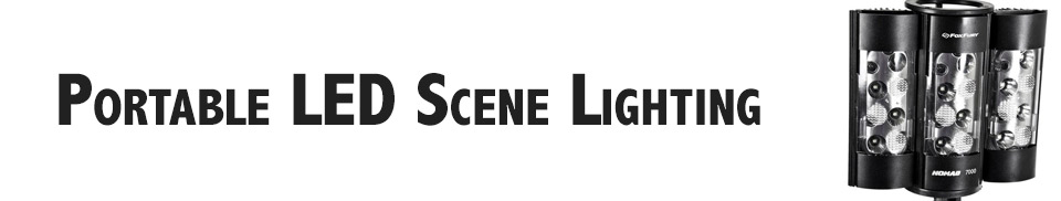 Portable LED Scene Lighting
