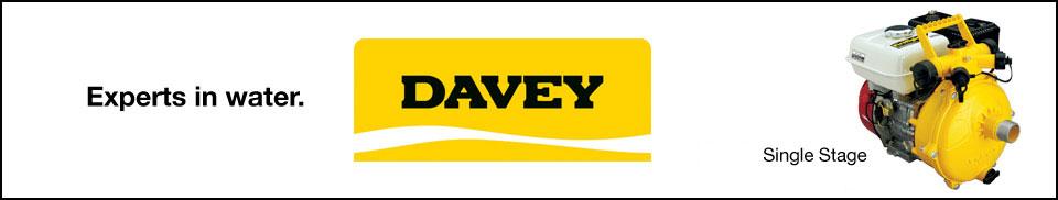 Davey Single Stage Pumps