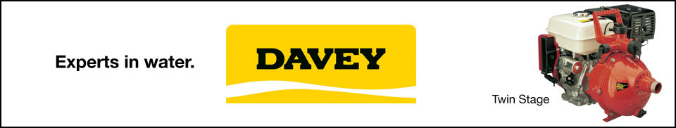 Davey Twin Stage Pumps