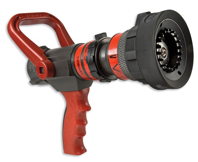 Akron brass style turbojet nozzle brt fire and
