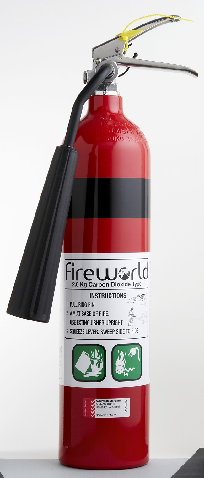co2 fire extinguisher 2kg firefighting equipment brt fire and rescue supplies. Black Bedroom Furniture Sets. Home Design Ideas