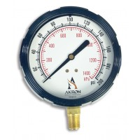 Akron Brass Style # 31 Brass Pressure Gauge