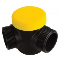 Scotty Fire Accessories # 4055 Three Way Connector - yellow