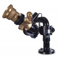 Akron Brass Style # 3491Water Cannon with # 4471 Akrofoam Nozzle