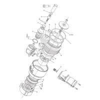 Akron Brass 4462 Severe Duty - Rampage Nozzle Overhaul Kit