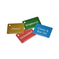 Anodised Aluminium Fuel ID Tags