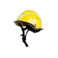 Vallfirest VF2 Bushfire Helmet / Rescue Helmet - Yellow
