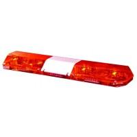 Code 3 Excalibur Lightbar Red/Red