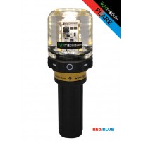 LMPRO LED Flare RED/BLUE with Battery Pack