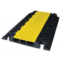 3 Channel Heavy Duty Cable Cover Closed