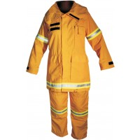 Ladies Wildland Fire Fighting Coat and Trouser