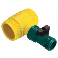 Scotty Fire Accessories # 4040SO Water Thief with Shut-Off