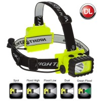 Nightstick XPP-5458G Intrinsically Safe Multi-Function LED Headlamp