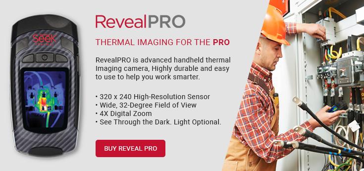 Seek Thermal Imaging Cameras - RevealPRO
