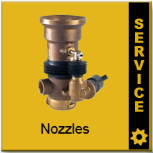 Akron Nozzle Spare Parts Kits
