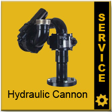 Akron Hydraulic Water Cannon Parts