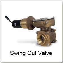 Akron Brass Severe Duty Swing Out Valve