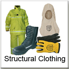 Structural Fire Fighter Clothing