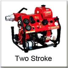 Tohatsu 2 stroke fire fighting pumps
