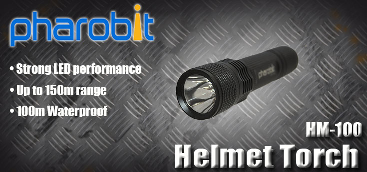 Pharobit Helmet Torch