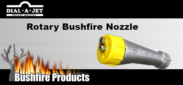 Dial A Jet rotary Bushfire Nozzle