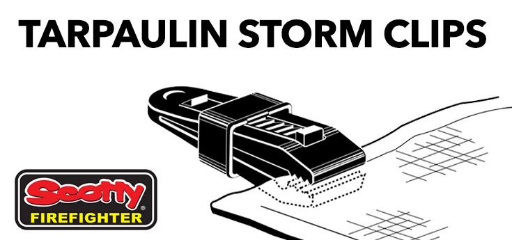 Tarpaulin Storm Clips