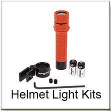 Nightstick - Helmet Light Kits