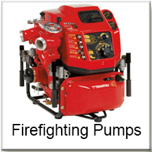 Structural Fire Fighting Pumps Tohatsu 2 Stroke 4 Stroke