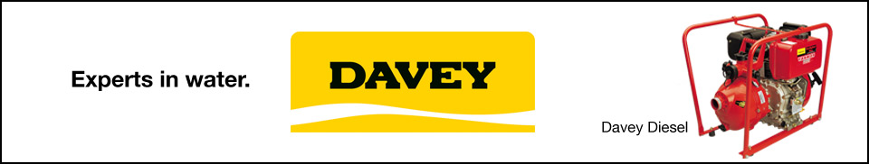 Davey Diesel Firefighter Pump