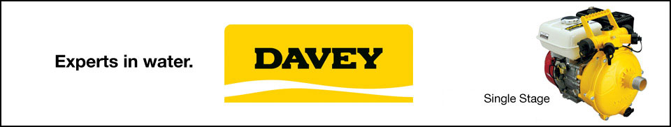 Davey Single Stage Pumps