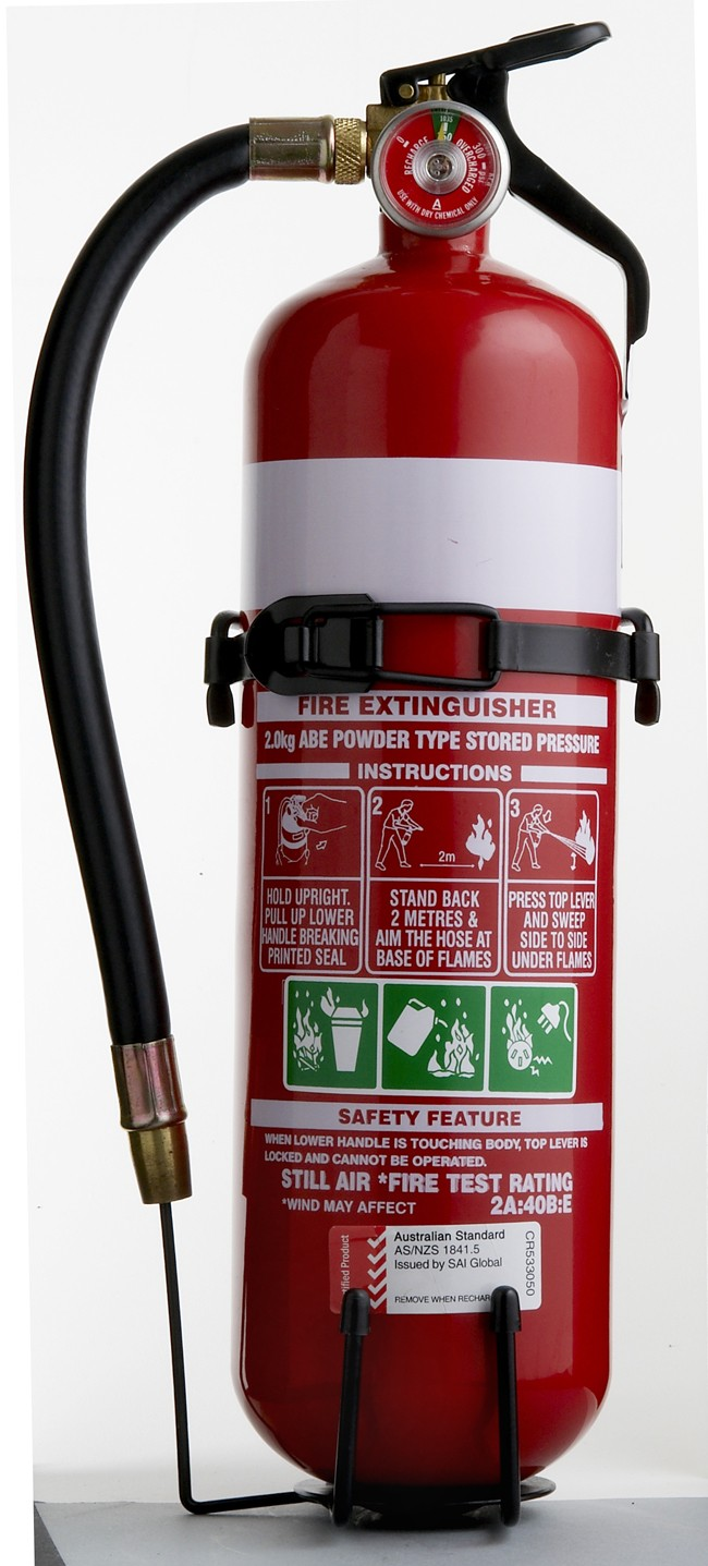 BRT Fire and Rescue Supplies Dry Chemical Fire Extinguisher 2kg