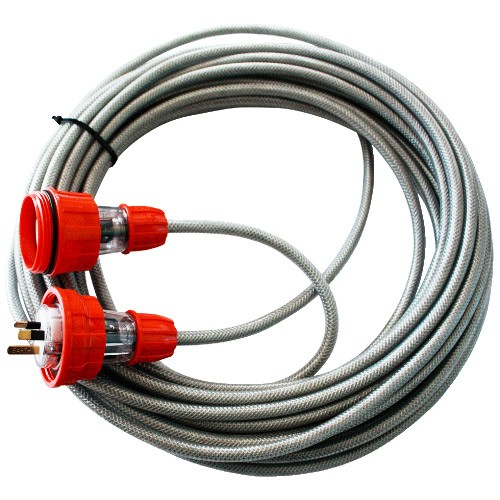 Brt fire and rescue supplies power safe braided extension lead 10m brt fire and rescue supplies - Vult extension ...