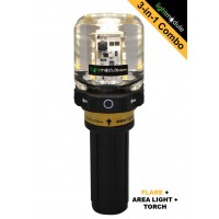 LMPRO 3-in-1 AMBER Electronic LED Flare with Battery