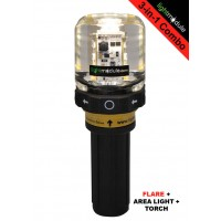 LMPRO 3-in- RED Electronic LED Flare with Battery Pack