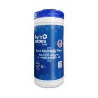 Hero Wipes - EMS - Decontamination Wipes 30ct Canister