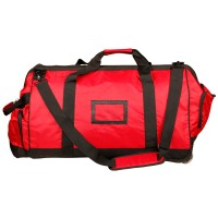 Large Fire Fighter Kit Bag With Wheels - Red