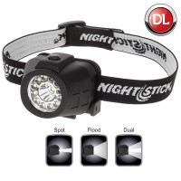 Nightstick NSP-4604B Dual-Light LED Headlamp