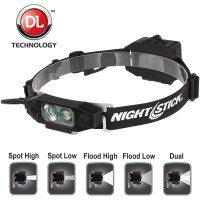 NSP-46146B - Nightstick - Low-Profile LED Multi-Funtion Dual-Light Headlamp
