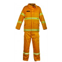 Wildland Fire Fighting Coat and Trouser