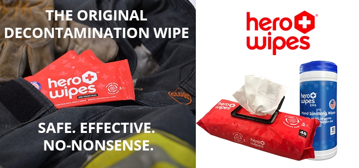 HERO Wipes - Hypoallergenic decontamination wipes