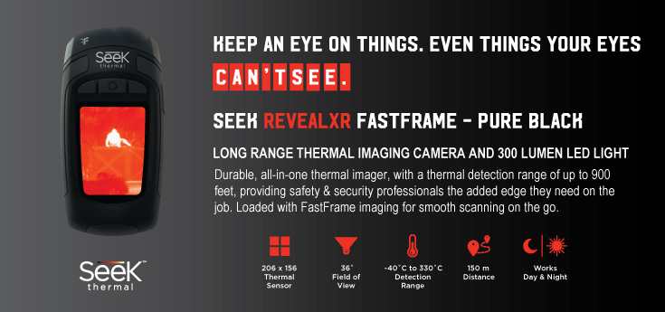 Seek Thermal Imaging Cameras - Reveal XR