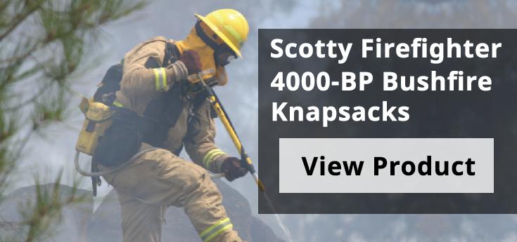 Scotty Firefighter - 4000-BP Banner