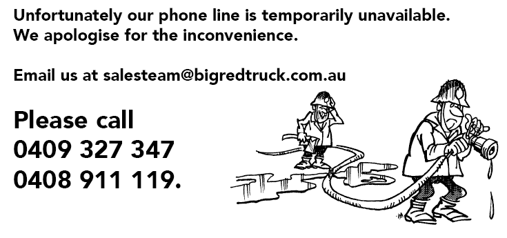 Unfortunately the phone line is temporarily unavailable. Please call on 0409 327 347 for all enquiries.
