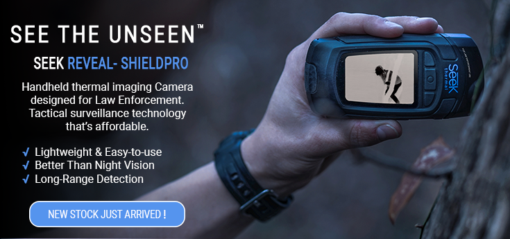 Seek Thermal Imaging Cameras - Reveal Shield PRO