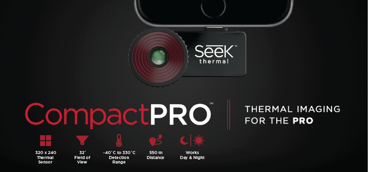 Seek Thermal Imaging Cameras - Compact PRO