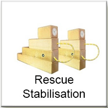 Rescue Stabilisation Blocks