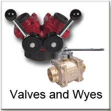 Valves and Wyes